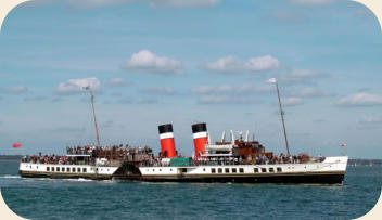 Waverly paddle steamer